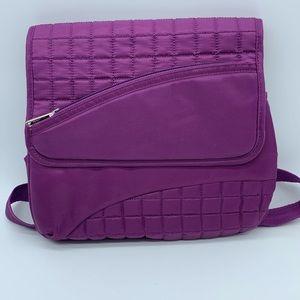 LUG purple crossbody bag